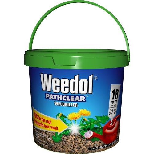Weedol 011008 Weedkiller, Brown, 18 Tubes