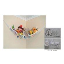 Hammock For Soft Toy Teddy Keep Baby/Children'S Bedroom Tidy Mesh Storage Ideal For Nursery Play Corner Hammock