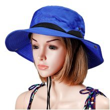 Women Foldable Sunshade Fisherman Bucket Hat Outdoor Travel Climb Breathable Cap