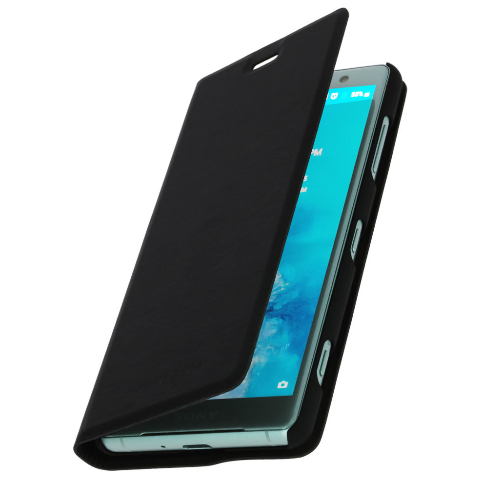 roxfit xperia xz2 compact  Roxfit flip case cover with built-in slot for Sony Xperia XZ2 ...