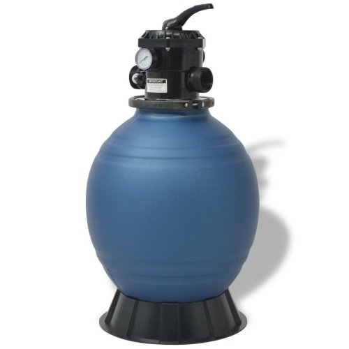 vidaXL Pool Sand Filter 18 inch/460 mm Round Blue