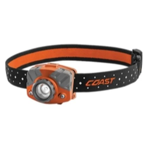 Coast 20620 FL75R Rechargeable Head Lamp, Orange