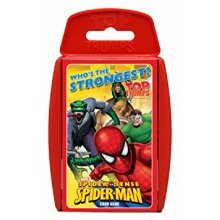 Top Trumps Spiderman Family Card Game Brand New Sealed