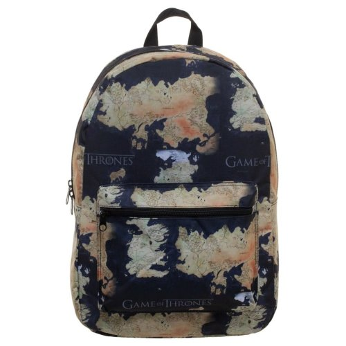 78d35a92e568e7 Game of Thrones Map Design Backpack