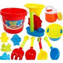 Kid's Beach Sand Toys Baths Pools Set 13PCS