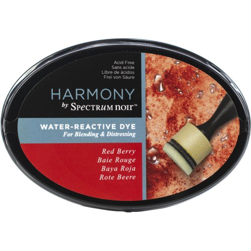 Spectrum Noir Harmony Water Reactive Ink Pad-Red Berry