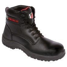 Otter Safety Boot V6400 Black, Size 7