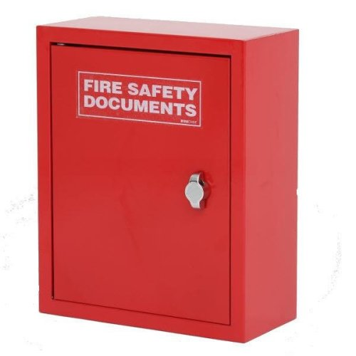 Thomas Glover High Quality Metal Fire Document Cabinet Red