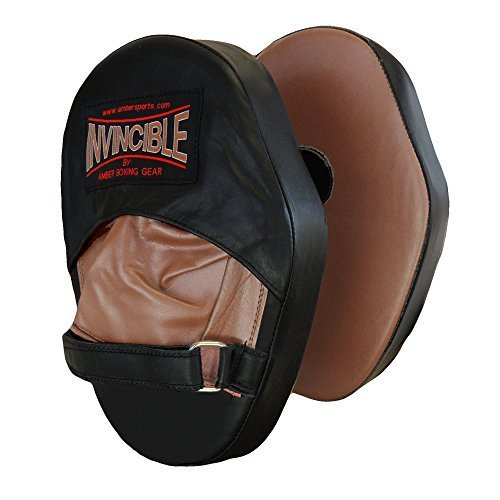 Amber Sporting Goods Invincible Classic Focus Mitts (Medium)