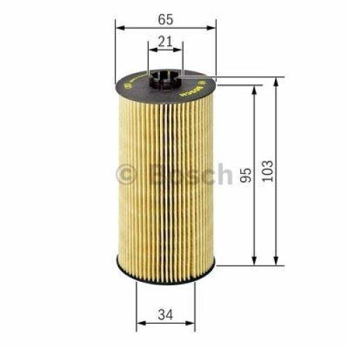 BOSCH F 026 407 157 Oil Filter