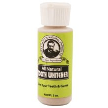 Tooth Whitener Powder 0.7oz powder by Uncle Harrys Natural Products
