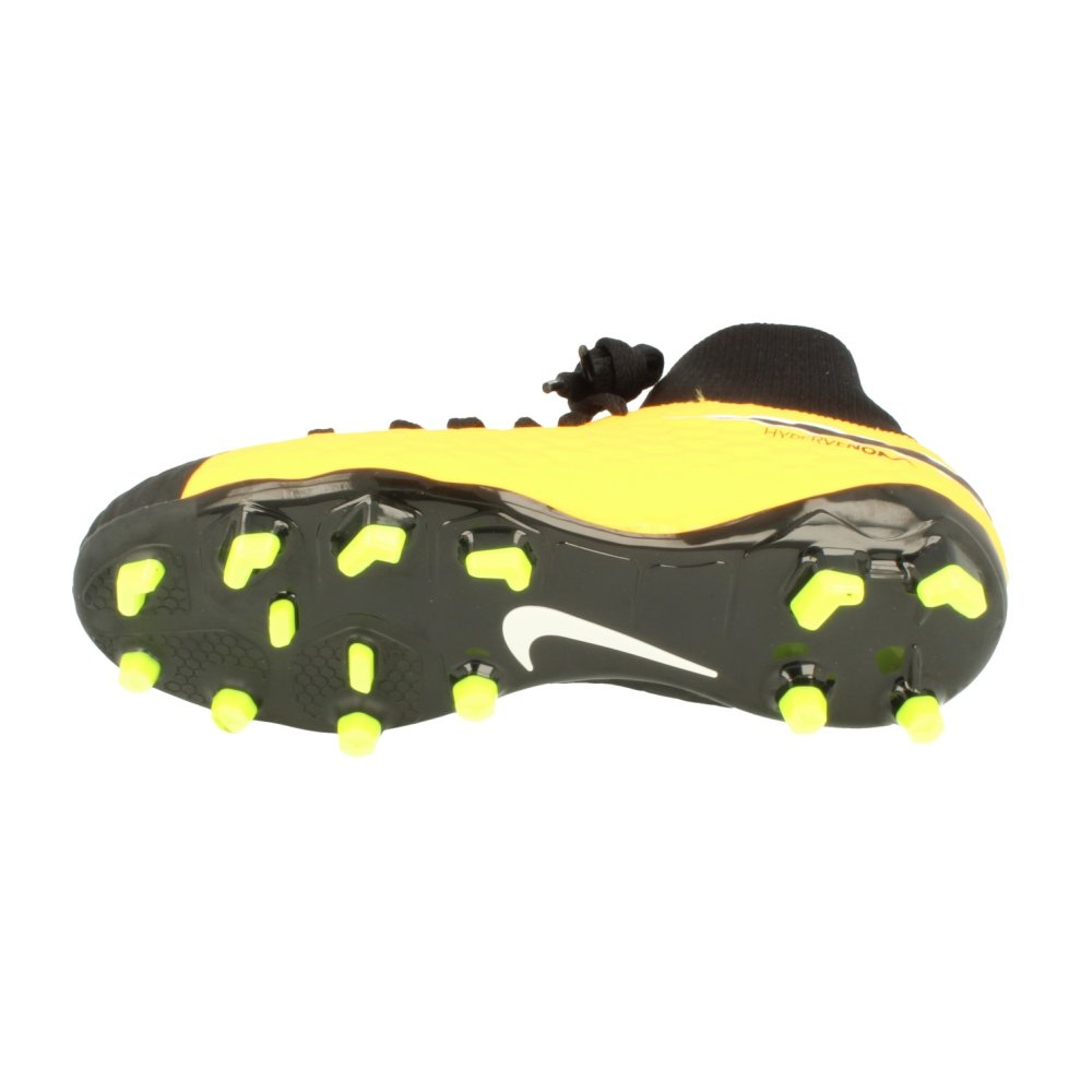 737f4af6c3c ... Nike Junior Hypervenom Phelon 3 Df FG Football Boots 917772 Soccer  Cleats - 4.