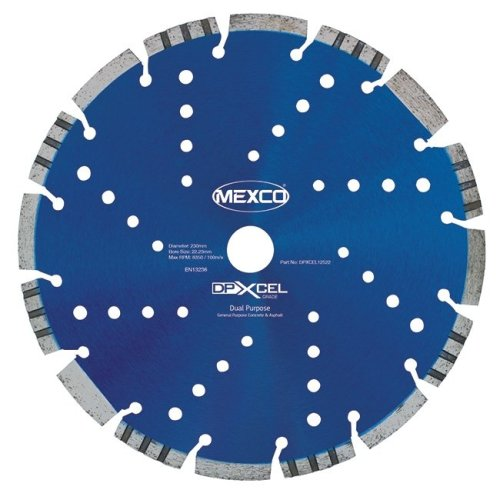 Mexco DPXCEL 230mm Dual Purpose Abrasive Diamond Blade