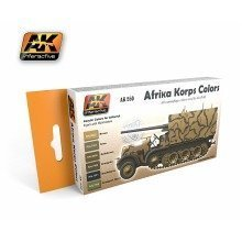 Ak00550 - Ak Interactive Afrika Korps Color Set