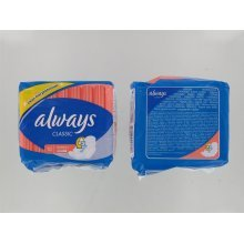 Always Classic Normal Sanitary Pads FOUR PACK 4x10 Pads
