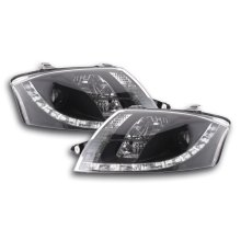 DRL Daylight headlight  Audi TT type 8N Year 98-06 black