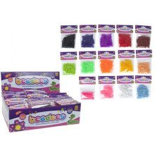 16 Assorted Colour Bags Of Beadees Beads 300 Piece In Poly Bag -  16 assorted colour bags beadees beads 300 piece poly