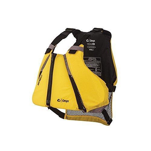 ONYX MoveVent Curve Paddle Sports Life Vest, Yellow, Medium/Large