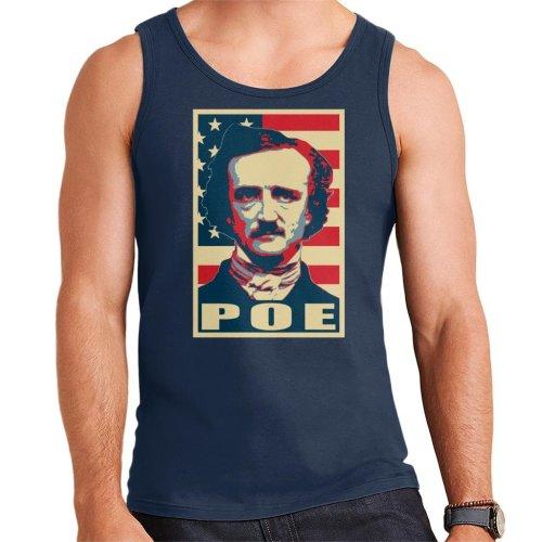(Medium) Edgar Allan Poe Pop Art Men's Vest