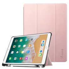 Fintie iPad Pro 10.5 Case with Apple Pencil Holder - [SlimShell]  Rose Gold