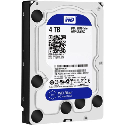 4TB WD Blue SATA3 6Gb/s 64Mb Hard Drive