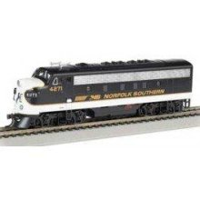 Bachmann Industries F7-A DCC Sound Value Equipped HO Scale Diesel New York Central Lightning Stripe Locomotive