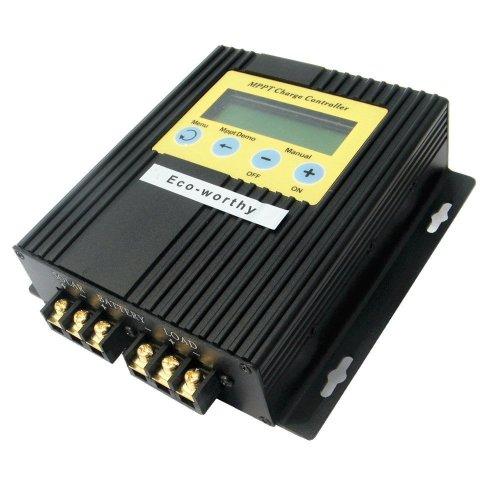 ECO-WORTHY 20A 12V/24V MPPT Solar Charge Controller Solar Regulator 15-30% More Power