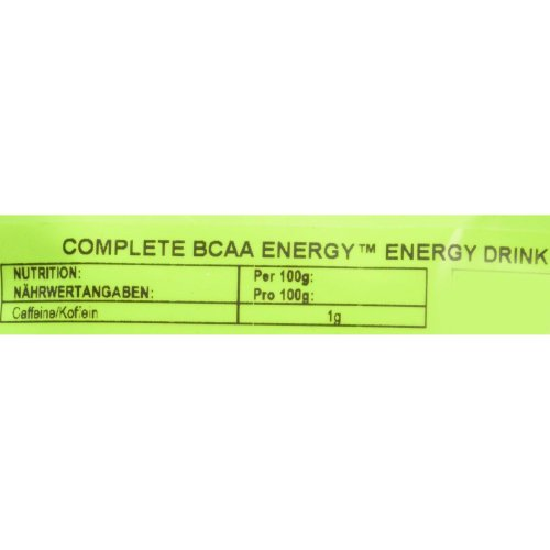 BULK POWDERS Complete BCAA Energy Energy Pouch, 100 g