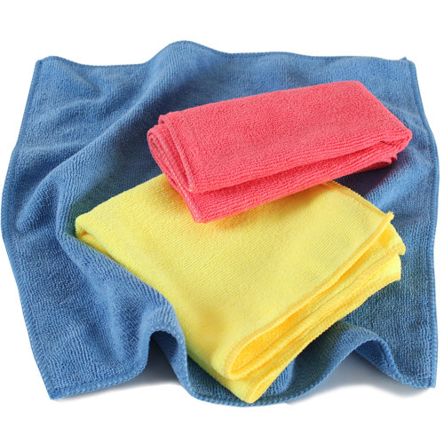 100 microfibre cloths - colorful