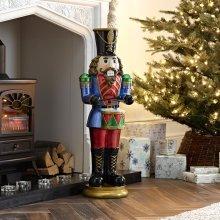 Winter Workshop - 3ft Indoor & Outdoor Poly Resin Drummer Christmas Figure
