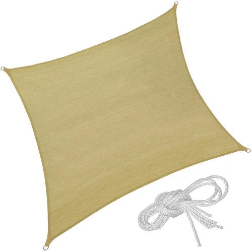 Sun shade sail square 360 x 360 cm