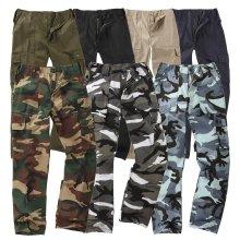 Kids Bdu 6-Pocket Cargo Combat Trousers Children