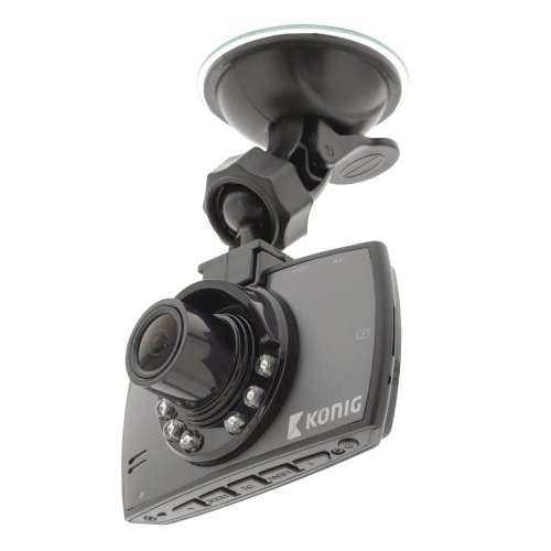 "Konig HD Dashboard Camera Car 120º Viewing Angle Dash Cam with 2.7"" LCD Screen 1920x1080"