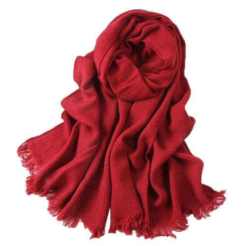 Fashion Scarves Winter Warm Female Scarves Infinity scarf/shawl,Wine Red