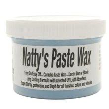 236ml 8oz Blue Natty's Paste Wax - Nattys Poorboys Carnauba 8ounce -  nattys wax poorboys paste blue carnauba 8ounce