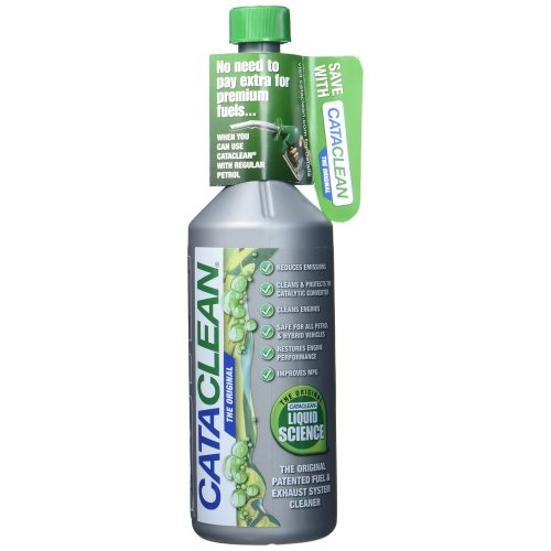 Cataclean CAT001 Engine and Catalytic Converter Cleaning Treatment, Petrol, 500ml