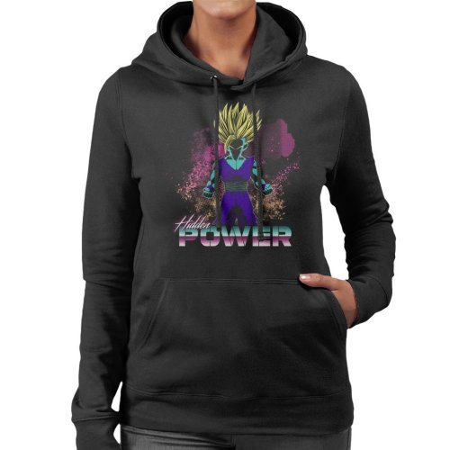 Retro Hidden Power Dragon Ball Z Women's Hooded Sweatshirt