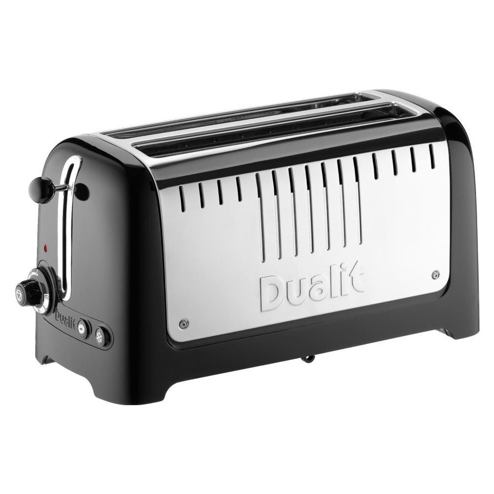 Dualit Lite 4 Slice Long Slot Toaster With Warming Rack