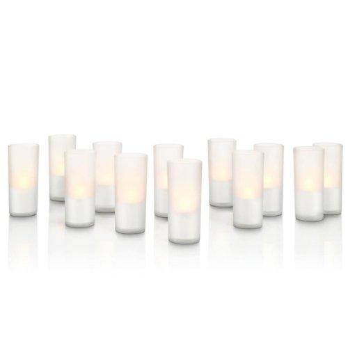 Philips LED Candle Lights 12 pcs White 6913360PH