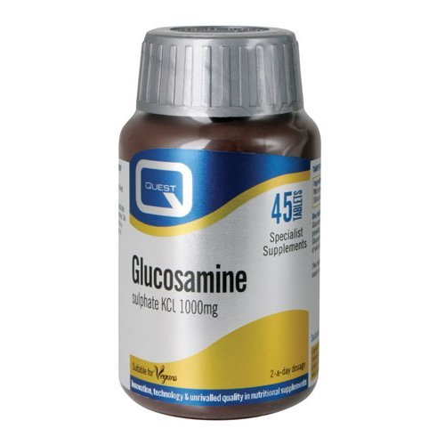 Quest  Glucosamine Sulphate 1000mg Tablets 45s