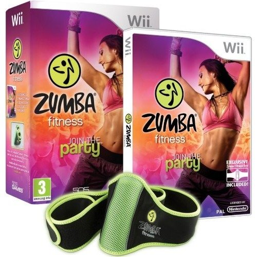 Zumba Fitness Join the Party for Nintendo Wii (+ Belt) - NEW & SEALED