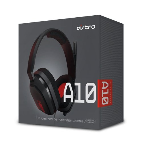 Astro Gaming A10 Gaming Headset (Black/Red - PC)