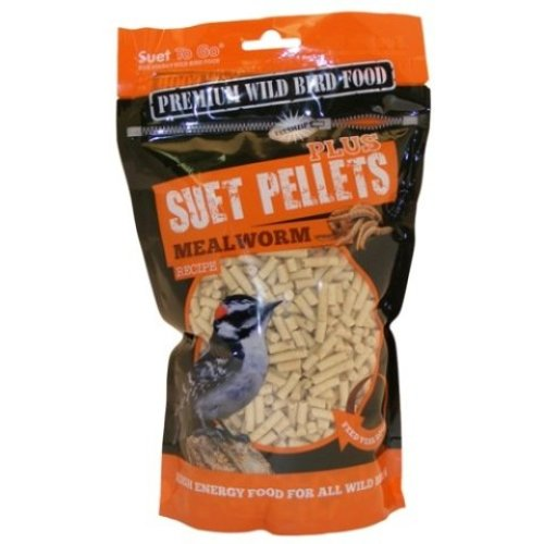 Suet To Go Plus Pellets Mealworm 550g (Pack of 6)