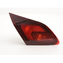 Spare parts taillight left Opel Astra J Year 2009-2012 black