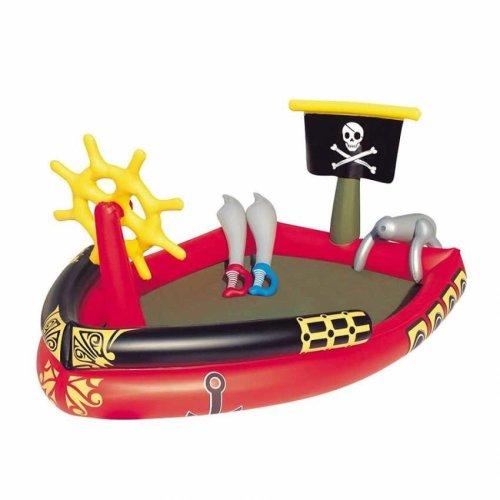Bestway 53041 Inflatable Kiddie Pool Pirate Ship