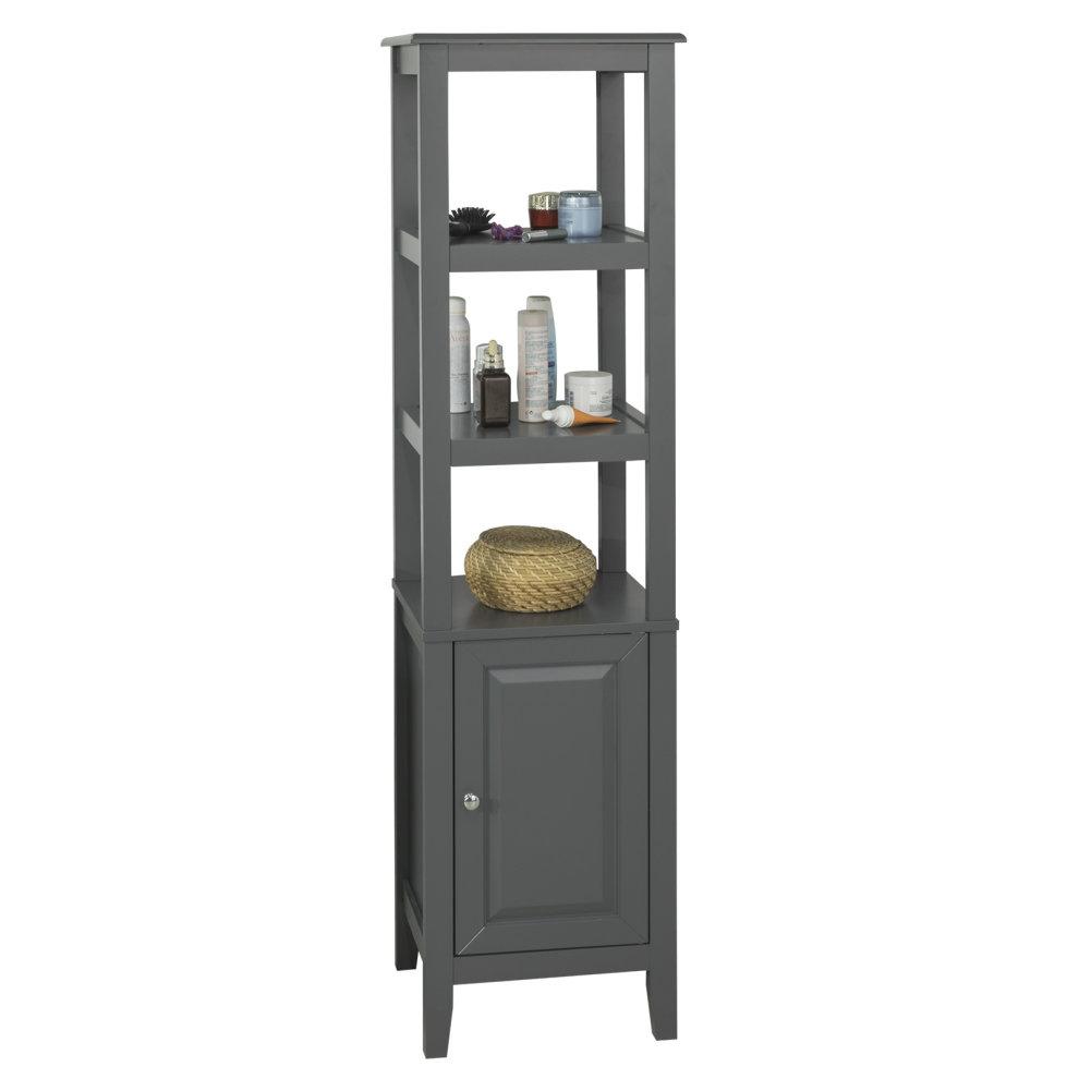 Fantastic Sobuy Frg205 Dg Floor Standing Tall Bathroom Storage Cabinet Home Interior And Landscaping Oversignezvosmurscom