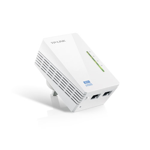 TP-LINK AV600 600Mbit/s Ethernet LAN Wi-Fi White 1pc(s) PowerLine network adapter