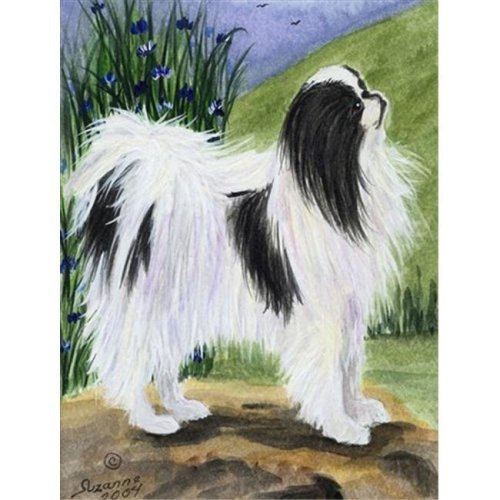 Carolines Treasures SS8028CHF 28 x 40 in. Japanese Chin Flag Canvas House Size
