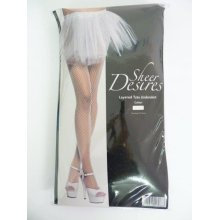 Adult's White Tutu Underskirt -  tutu underskirt fancy dress ladies adult accessory party hen 80s neon 1980 white