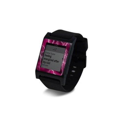 DecalGirl PW2SE-APOC-PNK Pebble 2 SE Smart Watch Skin - Apocalypse Pink